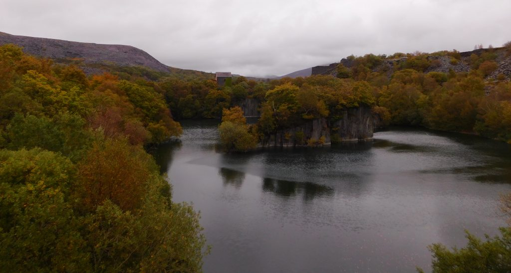 Autumn in the quarry