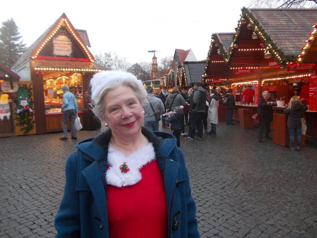 Me among the stalls
