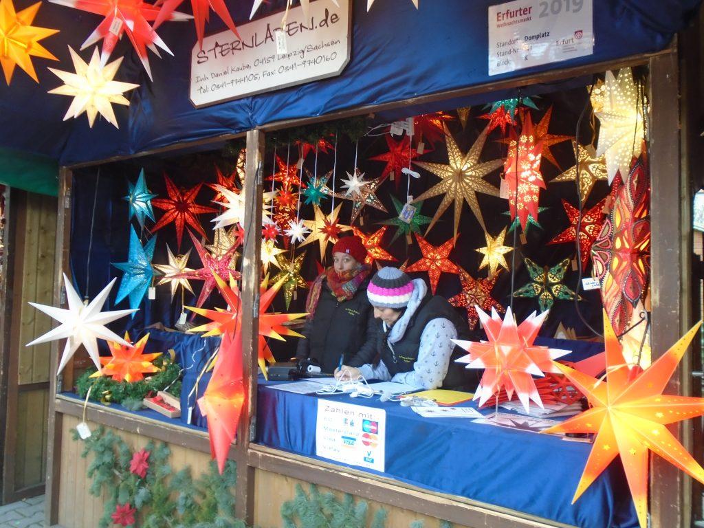 Star stall, Erfurt