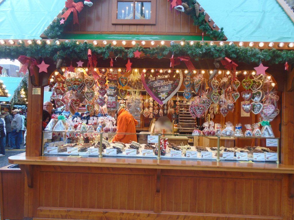 Gingerbread stall, Erfurt