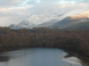 Nantlle Ridge in Snow