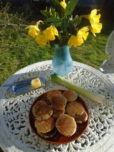 Daffs and Welsh cakes